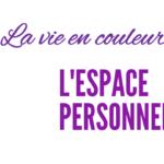 Espace personnel